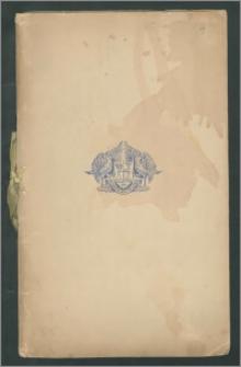 Plan stołów oraz alfabetyczna lista i rozmieszczenie gości na COROCZNYM OBIEDZIE W GROSVENOR HOUSE (Annual Dinner at Grosvenor House), organizowany przez Prezesa Londyńskiej Izby Handlu (The London Chamber of Commerce), w Londynie, dnia 10 maja 1938 r.