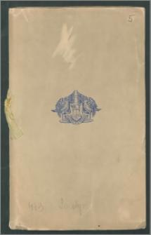 Plan stołów oraz alfabetyczna lista i rozmieszczenie gości na COROCZNYM OBIEDZIE W GROSVENOR HOUSE (Annual Dinner at Grosvenor House), organizowany przez Prezesa Londyńskiej Izby Handlu (The London Chamber of Commerce), w Londynie, dnia 18 maja 1939 r.