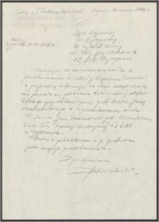 Pismo do Sądu Rejonowego w Bydgoszczy