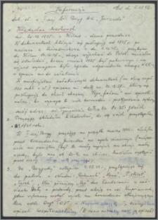 Markowski Władysław (1925-) autobiografia