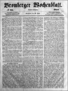 Bromberger Wochenblatt 1853.04.30 nr 35