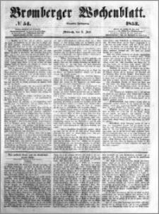 Bromberger Wochenblatt 1853.07.06 nr 54