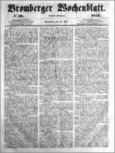 Bromberger Wochenblatt 1853.07.23 nr 59