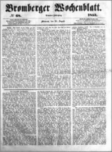 Bromberger Wochenblatt 1853.08.24 nr 68