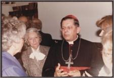 Wizyta Kardynała Józefa Glempa w Bibliotece Polskiej w Montrealu
