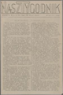 Nasz Tygodnik : dodatek nr 38 do nr 232 (338) Ku Wolnej Polsce 1941