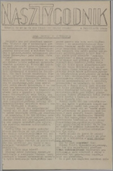 Nasz Tygodnik : dodatek nr 40 do nr 238 (344) Ku Wolnej Polsce 1941