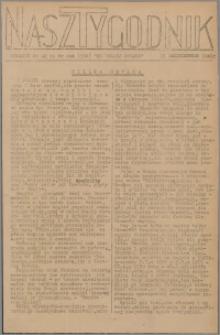 Nasz Tygodnik : dodatek nr 42 do nr 244 (350) Ku Wolnej Polsce 1941
