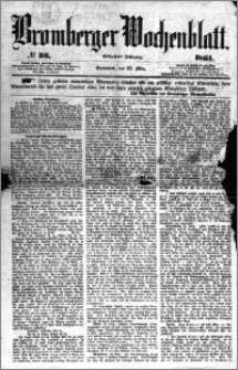Bromberger Wochenblatt 1861.03.23 nr 36