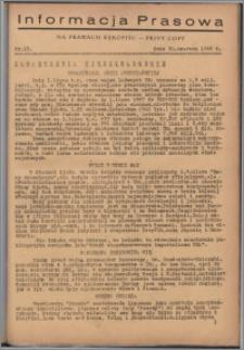 Informacja Prasowa 1946.06.20, nr 15