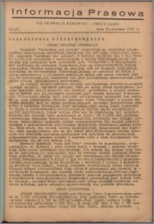 Informacja Prasowa 1946.06.27, nr 16
