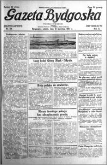 Gazeta Bydgoska 1931.04.11 R.10 nr 83