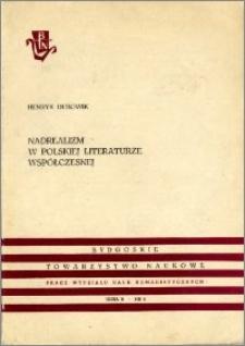 Nadrealizm w polskiej literaturze współczesnej