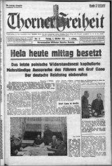 Thorner Freiheit 1939.10.02, Jg. 1 nr 11