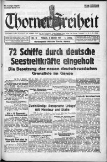 Thorner Freiheit 1939.10.04, Jg. 1 nr 13