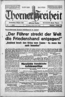 Thorner Freiheit 1939.10.07, Jg. 1 nr 16