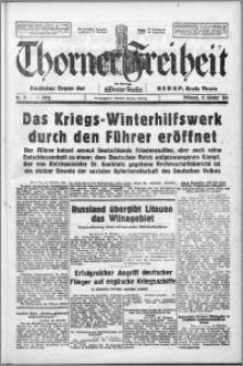 Thorner Freiheit 1939.10.11, Jg. 1 nr 19