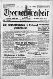 Thorner Freiheit 1939.10.20, Jg. 1 nr 27