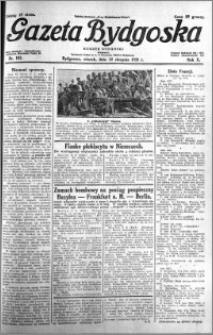Gazeta Bydgoska 1931.08.11 R.10 nr 183