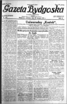Gazeta Bydgoska 1931.08.30 R.10 nr 199