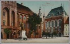 Toruń - Ratusz Staromiejski i Dwór Artusa