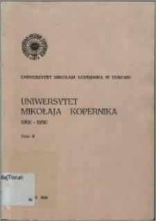 Uniwersytet Mikołaja Kopernika 1966-1980 T. 2