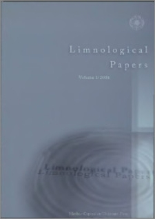 Limnological Papers 2006, vol. 1