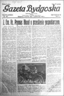Gazeta Bydgoska 1931.10.01 R.10 nr 226