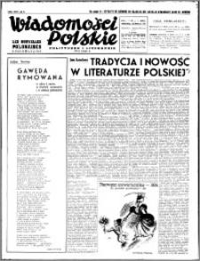 Wiadomości Polskie, Polityczne i Literackie 1940, R. 1, nr 2