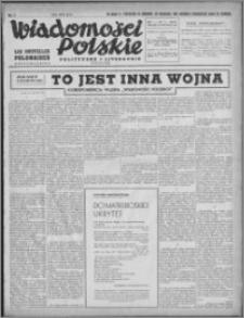 Wiadomości Polskie, Polityczne i Literackie 1940, R. 1, nr 7