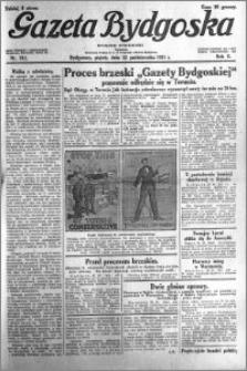 Gazeta Bydgoska 1931.10.23 R.10 nr 245