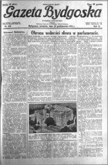 Gazeta Bydgoska 1931.10.25 R.10 nr 247