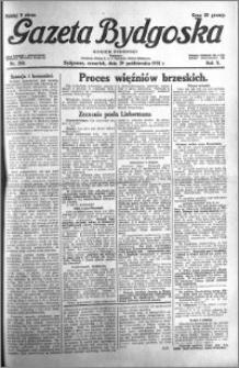 Gazeta Bydgoska 1931.10.29 R.10 nr 250