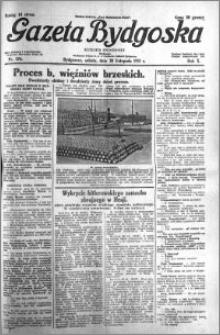 Gazeta Bydgoska 1931.11.28 R.10 nr 276