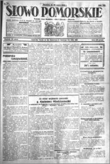Słowo Pomorskie 1928.03.25 R.8 nr 71