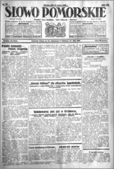 Słowo Pomorskie 1928.03.31 R.8 nr 76