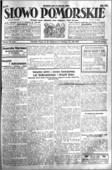 Słowo Pomorskie 1928.08.05 R.8 nr 179