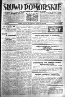 Słowo Pomorskie 1928.08.14 R.8 nr 186