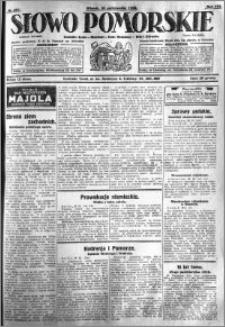 Słowo Pomorskie 1928.10.30 R.8 nr 251