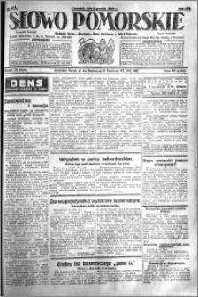 Słowo Pomorskie 1928.12.06 R.8 nr 282