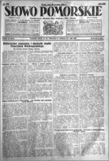 Słowo Pomorskie 1928.12.28 R.8 nr 298