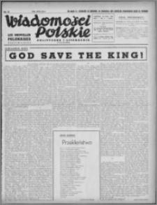 Wiadomości Polskie, Polityczne i Literackie 1940, R. 1, nr 11