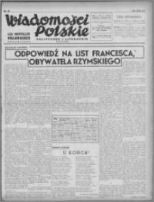 Wiadomości Polskie, Polityczne i Literackie 1940, R. 1, nr 12