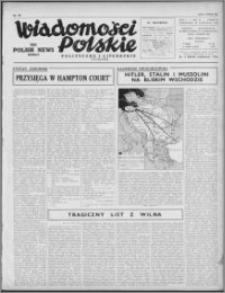 Wiadomości Polskie, Polityczne i Literackie 1940, R. 1, nr 23