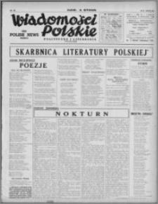 Wiadomości Polskie, Polityczne i Literackie 1940, R. 1, nr 26