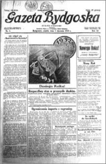 Gazeta Bydgoska 1932.01.01 R.11 nr 1