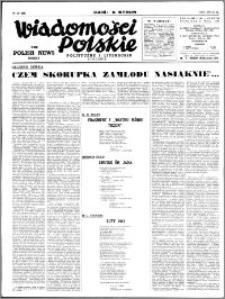 Wiadomości Polskie, Polityczne i Literackie 1941, R. 2 nr 21