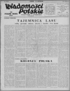 Wiadomości Polskie, Polityczne i Literackie 1941, R. 2 nr 30