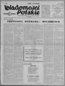 Wiadomości Polskie, Polityczne i Literackie 1941, R. 2 nr 31