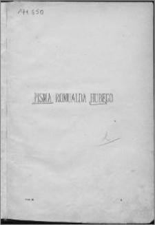 """Romualda Hubego """"Pisma"""" : poprzedzone zarysem biograficzno-krytycznym. T. 2"""